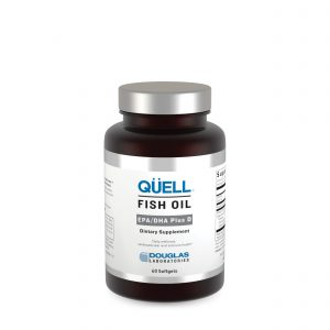 Quell Fish Oil EPA DHA plus D3 60ct by Douglas Laboratories