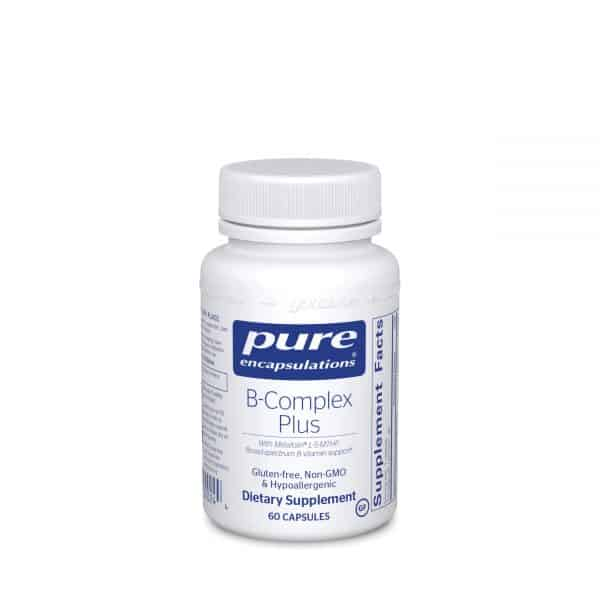 B-Complex Plus 60ct by Pure Encapsulations