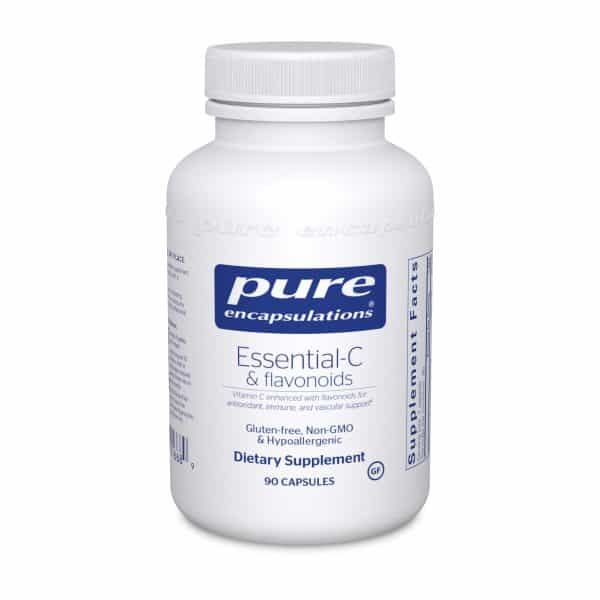 Essential-C & flavonoids 90ct by Pure Encapsulations
