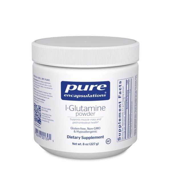 L-Glutamine powder 227 g by Pure Encapsulations