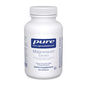 Magnesium Citrate 90ct by Pure Encapsulations