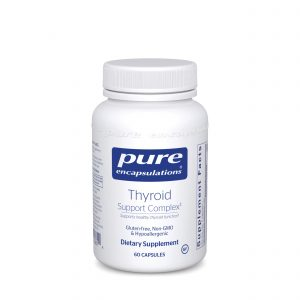 Thyroid Support Complex 60ct by Pure Encapsulations
