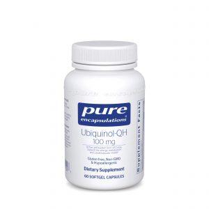 Ubiquinol-QH 100 mg 60ct by Pure Encapsulations