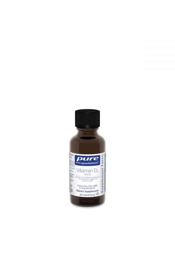 Vitamin D3 Liquid 22.5 ml by Pure Encapsulations