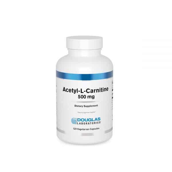 Acetyl-L-Carnitine 500 mg 120ct by Douglas Laboratories