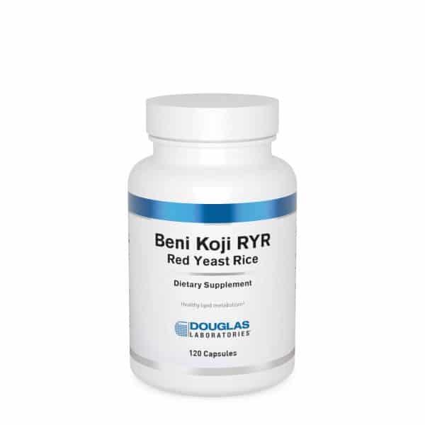 Beni-Koji Red Yeast Rice 120ct by Douglas Laboratories