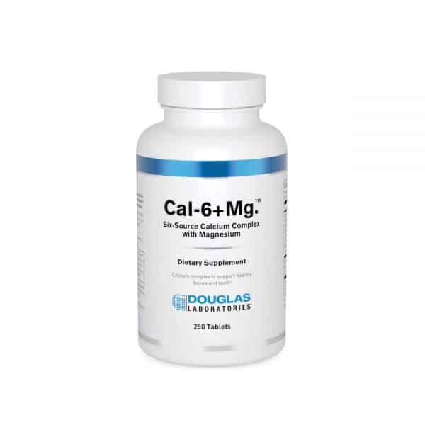Cal-6 plus Mg 250ct by Douglas Laboratories