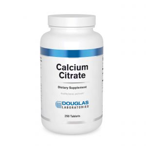 Calcium Citrate 250 mg 250ct by Douglas Laboratories