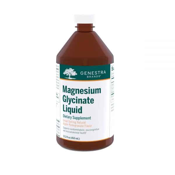 Magnesium Glycinate Liquid 15.2 fl oz by Genestra Brands