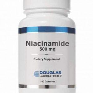 Niacinamide 500 mg 100ct by Douglas Laboratories