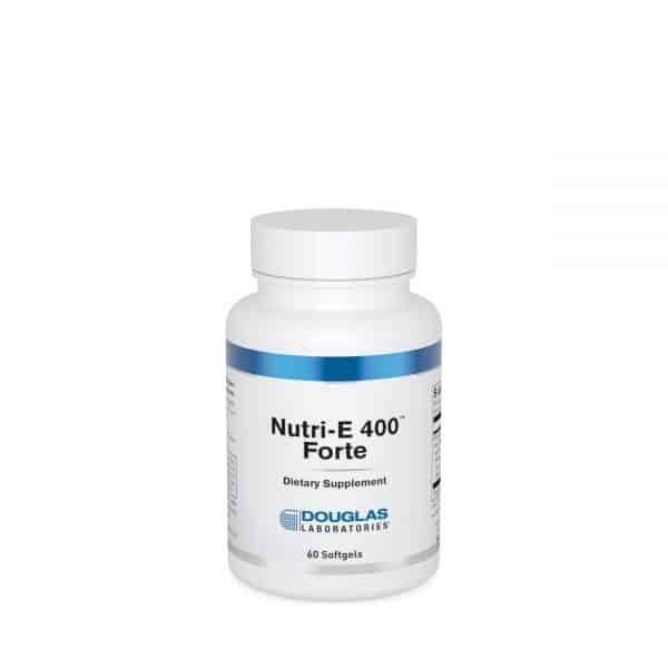 Nutri-E 400 Forte 60ct by Douglas Laboratories