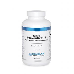 Ultra Preventive III 180ct tablets by Douglas Laboratories