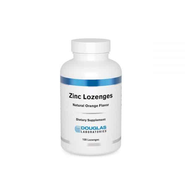 Zinc Lozenges 100ct by Douglas Laboratories