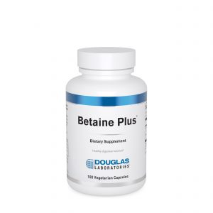 Betaine Plus 100ct by Douglas Laboratories