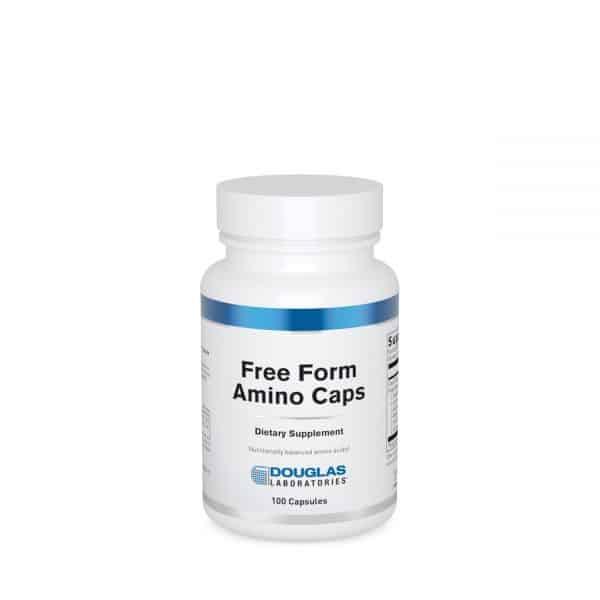Free Form Amino Caps 100ct by Douglas Laboratories