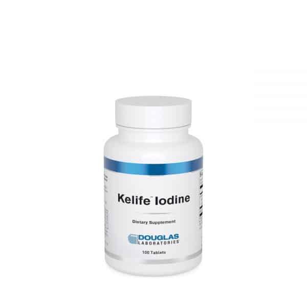 Kelife Iodine 100ct by Douglas Laboratories