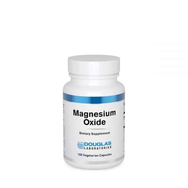 Magnesium Oxide 100ct by Douglas Laboratories