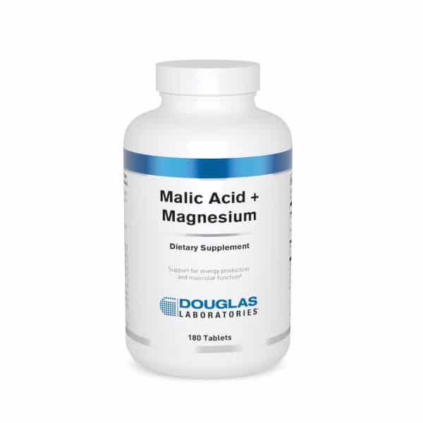 Malic Acid + Magnesium 180ct by Douglas Laboratories