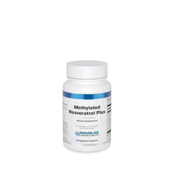 Methylated Resveratrol Plus 30ct by Douglas Laboratories