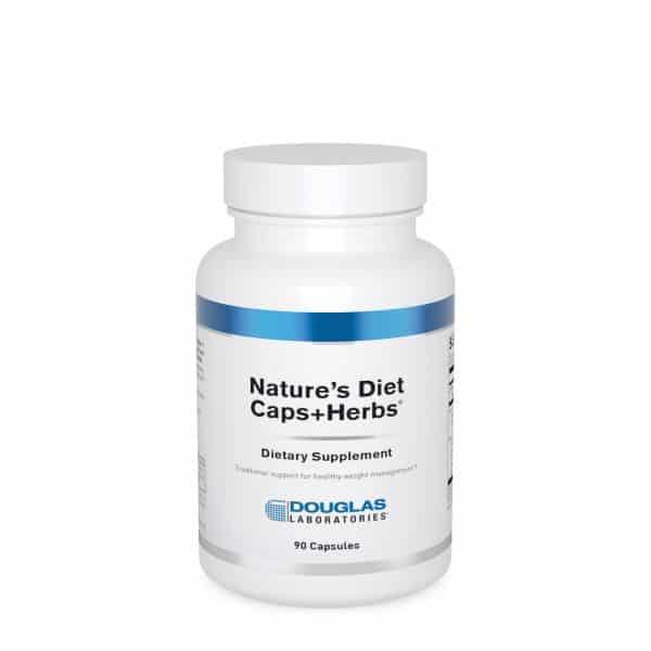 Nature's Diet Caps+Herbs 90ct by Douglas Laboratories