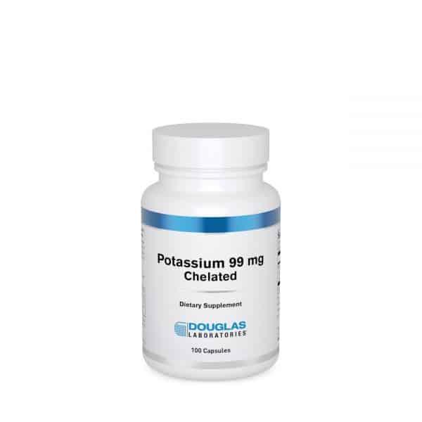 Potassium 99 mg Chelated 100ct by Douglas Laboratories
