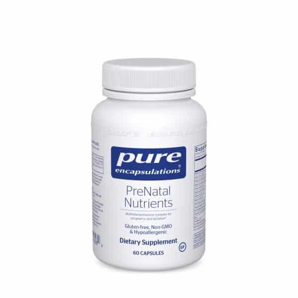 PreNatal Nutrients 60ct by Pure Encapsulations