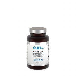 QUELL Fish Oil Ultra DHA 60ct by Douglas Laboratories