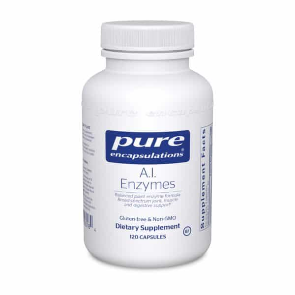 A.I. Enzymes 120ct by Pure Encapsulations