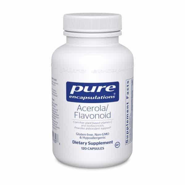 Acerola/Flavonoid 120ct by Pure Encapsulations