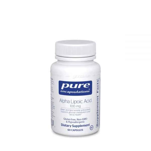 Alpha Lipoic Acid 100 mg 60ct by Pure Encapsulations