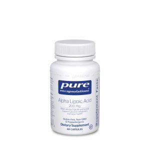Alpha Lipoic Acid 200 mg 60ct by Pure Encapsulations