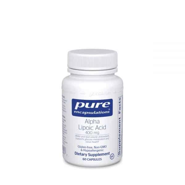 Alpha Lipoic Acid 400 mg 60ct by Pure Encapsulations