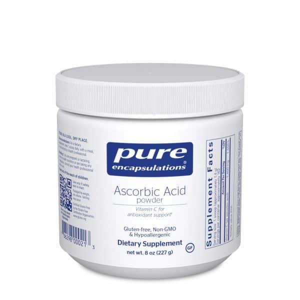 Ascorbic Acid Powder 227 g by Pure Encapsulations