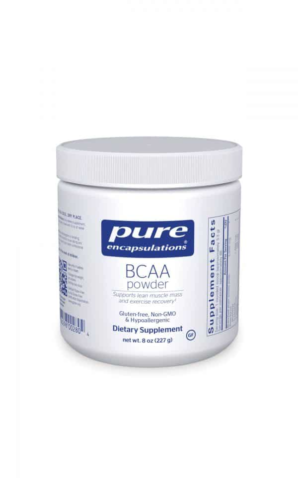BCAA Powder 227 g by Pure Encapsulations