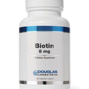 Biotin 8 mg 120ct by Douglas Laboratories