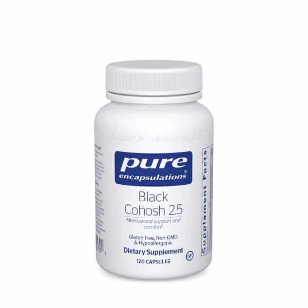 Black Cohosh 2.5 120ct by Pure Encapsulations