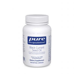 Black Currant Seed Oil 100ct by Pure Encapsulations