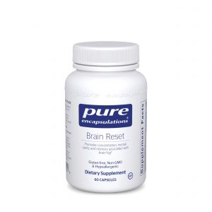 Brain Reset 60ct by Pure Encapsulations