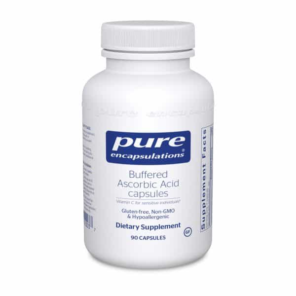 Buffered Ascorbic Acid 90ct by Pure Encapsulations
