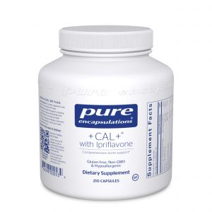 +CAL+ with Ipriflavone 210ct by Pure Encapsulations