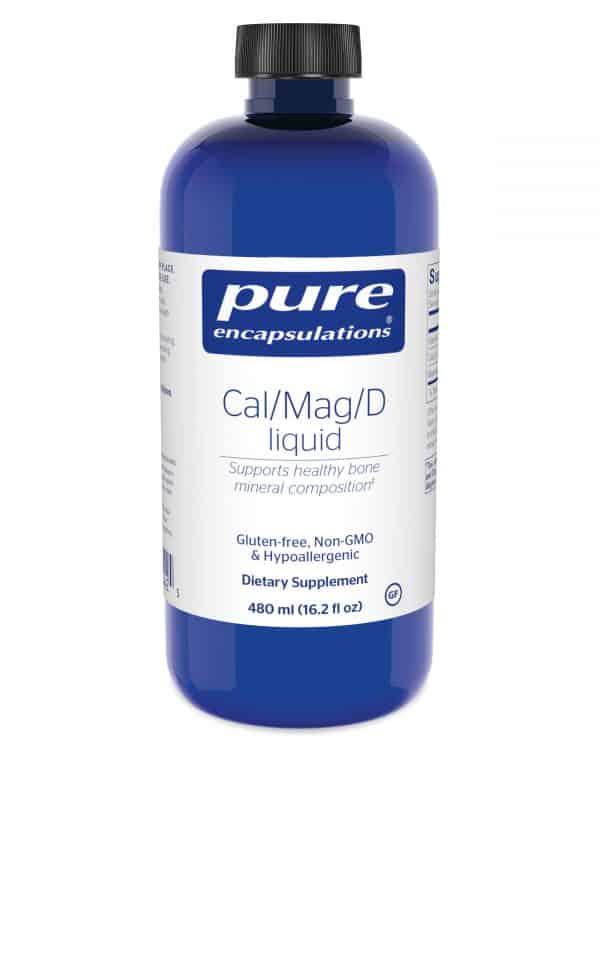 Cal/Mag/D liquid 480 ml by Pure Encapsulations