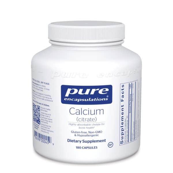 Calcium Citrate 180ct by Pure Encapsulations