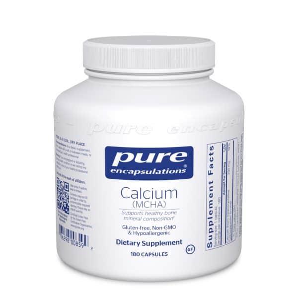 Calcium MCHA 180ct by Pure Encapsulations