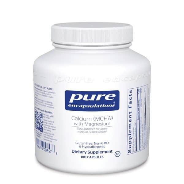 Calcium MCHA with Magnesium 180ct by Pure Encapsulations