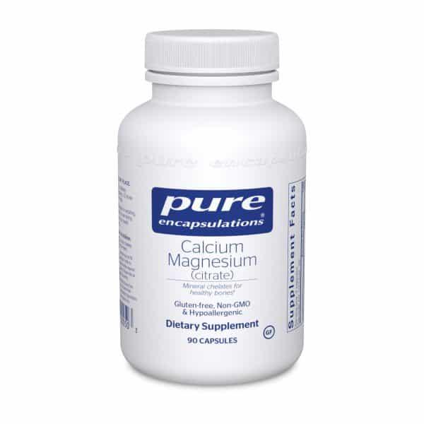 Calcium Magnesium citrate 90ct by Pure Encapsulations