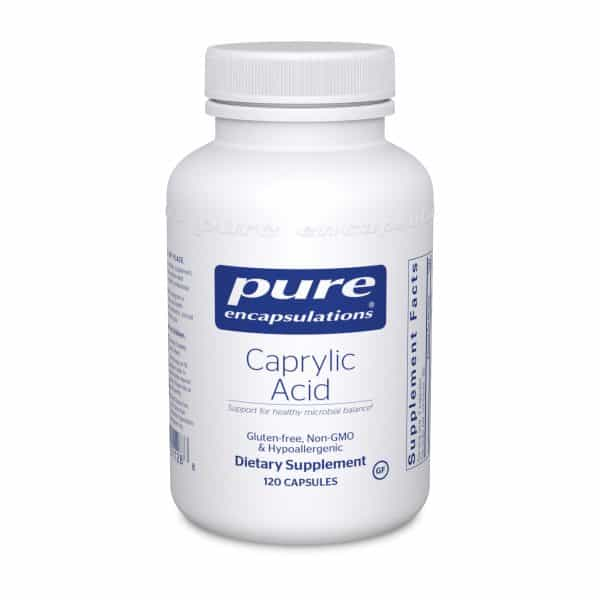 Caprylic Acid 120ct by Pure Encapsulations
