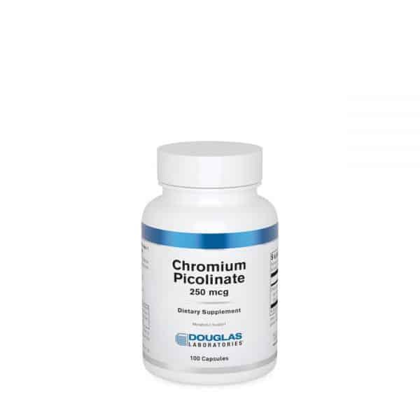 Chromium Picolinate 250 mcg 100ct by Douglas Laboratories