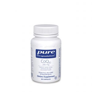 CoQ10 250 mg 60ct by Pure Encapsulations