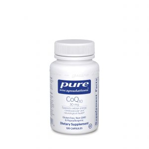 CoQ10 30 mg 120ct by Pure Encapsulations