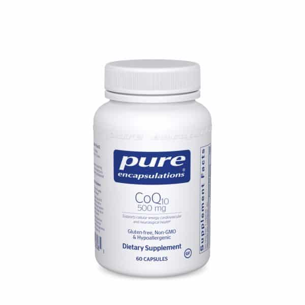 CoQ10 500 mg 60ct by Pure Encapsulations